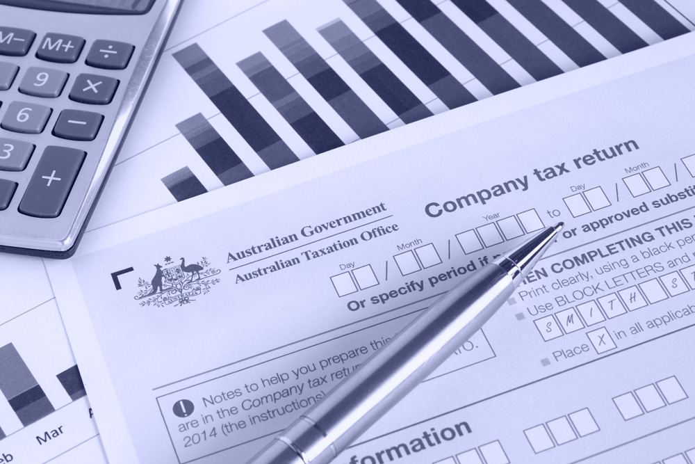 Company tax return form ACN