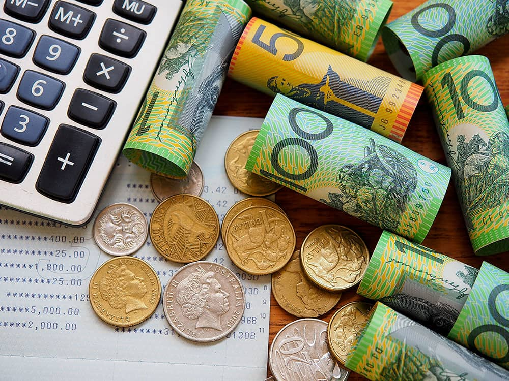 australian dollars budgeting
