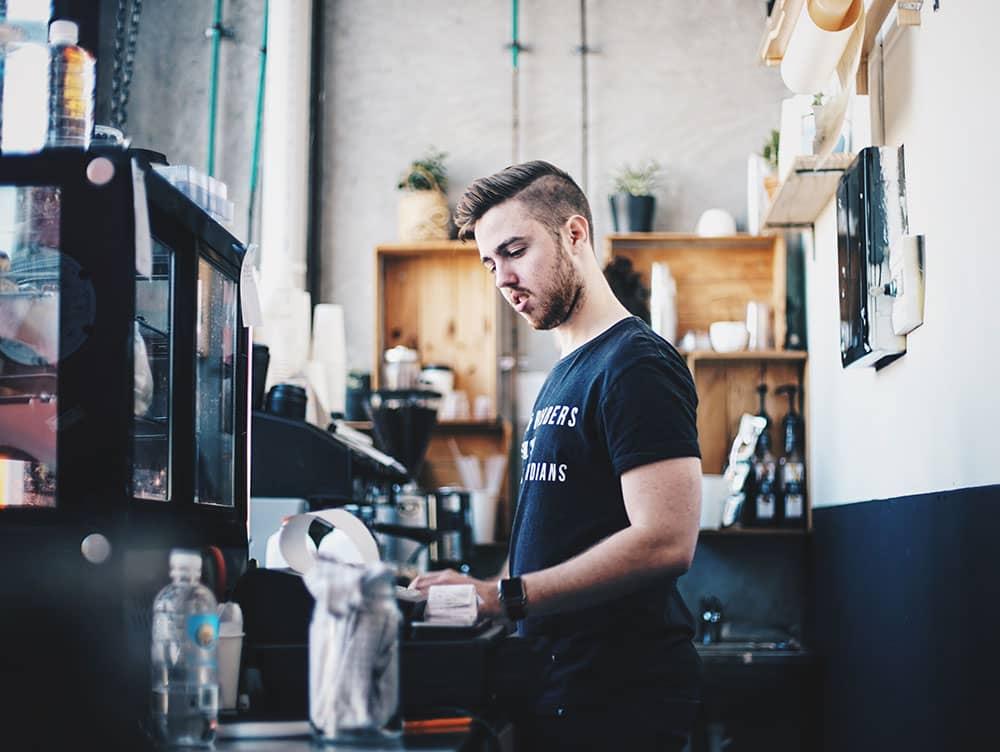 barista at work